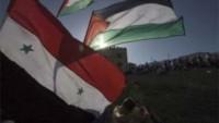 """""""Filistin ve halkı kardeşi Suriye'yi destekliyor"""""""