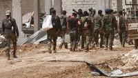 Suriye ordusu IŞİD'in lojistik destek yolunu kesti