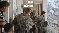 Suriye Ordusu Şam Kırsalında İlerliyor