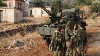 Suriye Ordusu Ateşkesi İhlal Eden Teröristlerin Mevzilerini Bozguna Uğrattı