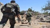 Suriye Ordusunun Terörle Mücadelesi Sürüyor