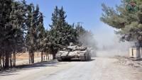 Suriye Ordusu Kuriye Beldesini İşgalden Kurtardı