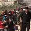 Suriye Ordusu Teröristlerin Rehine Aldıkları Binlerce Sivili Kurtardı