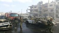 Homs Şehrindeki 2 Askeri Bölgeye Teröristlerce 6 Ayrı İntihar Saldırısı Düzenlendi: 35 Şehid