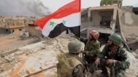 Suriye ordusu teröristlerin mevzilerini darmadağın etti