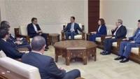 Esad: Siyonistlerin Suriyeyi İşgal Planı Bozguna Uğradı