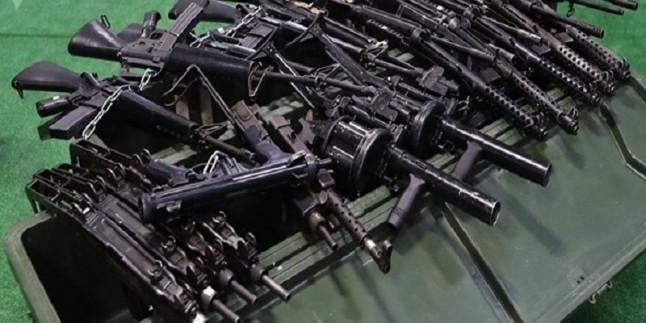 Suriye'de Amerika ve İsrail yapımı silahlar ele geçirildi