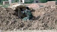 Suriye Ordusu Vatan Topraklarını Teröristlerden Temizlemeyi Sürdürüyor