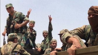 Suriye birlikleri, Nusra Cephesi teröristlerinin mevzilerini vurdu