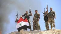 Suriye Ordusu, Teröristlere Ağır Darbeler Vuruyor