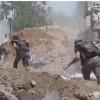 Suriye Ordusu İle Hizbullah Güçleri Doğu Guta Bölgesine 3 Koldan Girdi: 6 Belde İşgalden Kurtarıldı