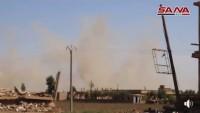 Suriye Ordusu Tekfirci IŞİD Teröristlerinin Saldırısını Geri Püskürttü