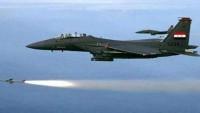 Suriye Sınırına Kaçmak İsteyen Teröristler Suriye Uçaklarınca Bombalandı