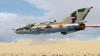Suriye hava güçleri, İdlib kırsalında çok sayıda teröristi araç ve cephaneleriyle imha etti