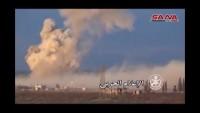 Video: Suriye Ordusunun, Halep, Lazkiye ve Hama kırsallarında teröristlere ağır darbeler vuran operasyonlarından kareler
