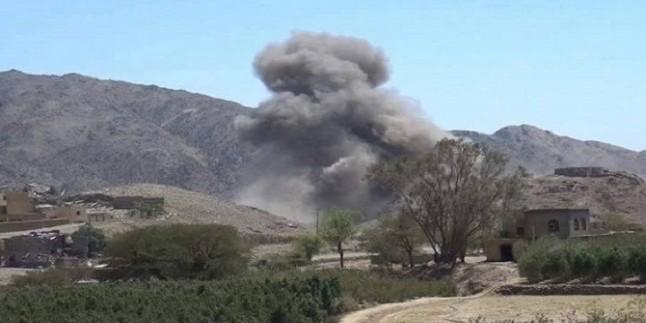 Suud İşgalcilerine Ait Uçaklar Yemen Halkını Bombaladı