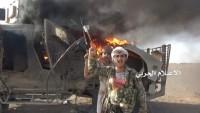 Yemen Hizbullahı Suud İşbirlikçilerine Ait 1 Tank İle 12 Askeri Aracı İmha Etti