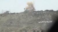 Yemen Hizbullahı, Suud Rejiminin Cizan'daki Mu'tan Askeri Üssünü Zilzal- 2 Füzesiyle Vurdu