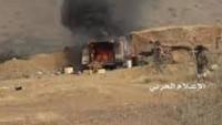 Yemen Hizbullahı İşgalci Suud Güçlerine Ağır Darbeler Vuruyor: Bir İHA, 5 Tank, 6 Zırhlı Araç İmha Edildi, Bir Karakol Ele Geçirildi