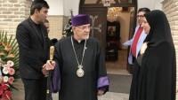 Tahran'daki Ermeni Başpiskoposu: Hristiyanlar için İsrail diye bir devlet yoktur
