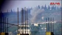 Video: Suriye Ordusu Tankı içindeki teröristlerle birlikte imha etti