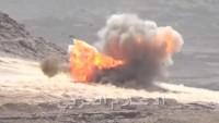 Yemen güçleri Cizan bölgesindeki Suudi üslerini 38 füze ile vurdu