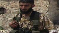 Nureddin Zengi Teröristlerinin Önemli Liderlerinden Omar Al Şeyh Öldürüldü