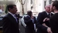 Suudi Bakan Londra'da Protesto Edildi