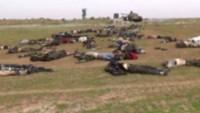 Suriye Ordusundan Hama Şehrinin Doğusunda Yuvalanan Teröristlere Darbe