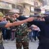 Suriye'nin Der'a kentinin batısında terörist grupları içinde çatışma çıktı