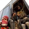 Ceyş'ül İslam teröristleri sivillerin çıkışını silah zoruyla engelliyor