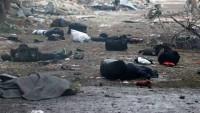 Siyonist Köpeği Nusra Teröristleri Suriye Ordusuna Sığınmak İsteyen Sivilleri Yaylım Ateşine Tuttu: 30 Şehid