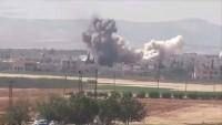 İdlib'te Teröristlerin Cephane Depoları Havaya Uçuruldu