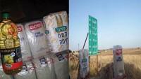 Siyonist İsrail Suriye'deki teröristlere gıda maddesi gönderiyor