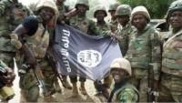 Foto: Nijerya Ordusuna Bağlı Çeteler IŞİD Bayrağıyla Poz Verdi