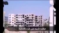 Video: Suriye Ordusu Teröristlerin Toplantı Yapacağı Binayı Havaya Uçurdu