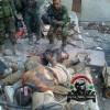 Foto: Suriye kahramanları tarafından öldürülen teröristlerin leşleri