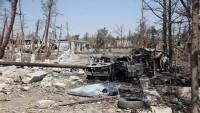 IŞİD Teröristlerine Ait 13 Araç Suriye Uçakları Tarafından Yerle Bir Edildi