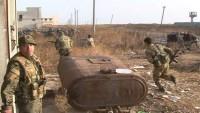 Deyrezzor Askeri Havaalanına Saldıran Teröristler, Suriye Ordusu Tarafından Etkisizleştirildi