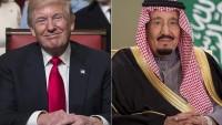 Siyonist Suudi Kralı, Suriye'ye Saldırısı İçin Trump'ı Telefonla Arayarak Kutladı