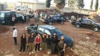Türkiye'de eğitilip-donatılan 75 terörist 12 araçlık konvoy ile Suriye'ye geçti