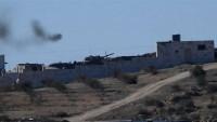 Suriye ordusundan Golan'da teröristlerin mevzilerine topçu saldırısı