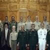 İran Silahlı Kuvvetlerine Bağlı Üst Düzey Komutanlar Toplandı