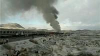 İran'da Meydana Gelen Tren Kazasında Ölenlerin Sayısı 40'a Yükseldi