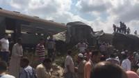 İskenderiye'de 2 Tren Çarpıştı: 36 Ölü