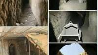 Suriye'de Türkiye'ye doğru uzanan 600 metre uzunluğunda tünel bulundu