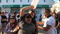 Tunus'ta Güvenlik Güçleri Eylemcilere Sert Müdahaleler Yaptı