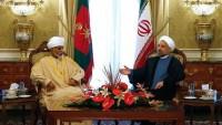 İran cumhurbaşkanı Ruhani, Umman kralı ile görüştü