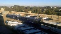 300'ü Silahlı 720 Kişi Suriye'nin Vaer Semtinden Çıktı