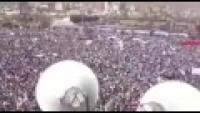 Video: Milyonlarca Yemenli İslam Devrimini Savunmak İçin Sokaklara Döküldü